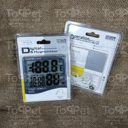 ترمومتر الحرارة والرطوبة الديجيتال 2 حساس