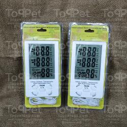 ترمومتر الحرارة والرطوبة الديجيتال الجامبو 2 حساس