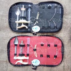 طقم التأكيل اليدوي الأحترافي المكون من 11 قطعة